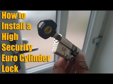 How to Install a High Security Euro Cylinder Lock