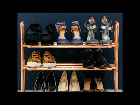 How to D.I.Y. a Copper Shoe Rack