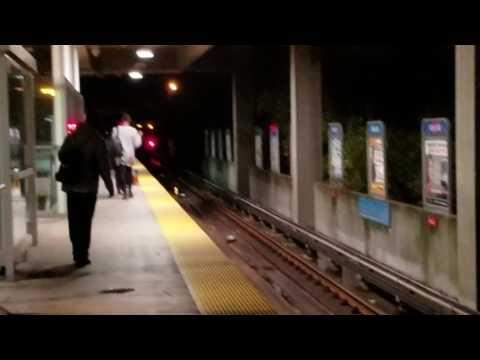 MTA MARYLAND:Metro Subway Both Trains@Milford Mill
