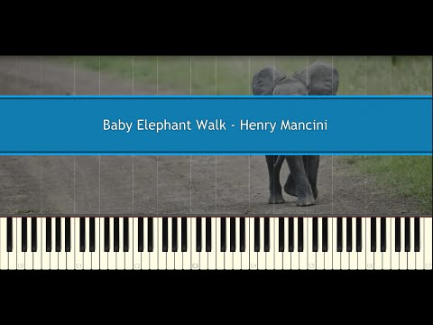 Baby Elephant Walk - Henry Mancini (Piano Tutorial)