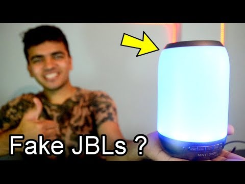 The Best Bluetooth Speakers I Have Ever Seen ! Fake JBLs In India ? UBON MNT- 3301