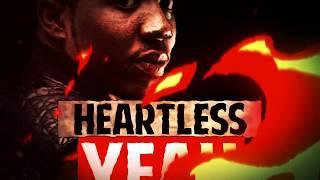 """YFN Lucci - """"Heartless"""" ft. Rick Ross (Official Lyric Video)"""