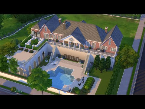 Denver Clan (Dynasty) house (back) Sims 4 (Part one) - starts at 5.50
