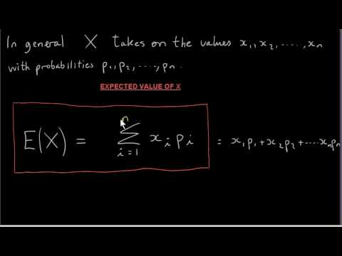 Expected Value of a Discrete Random Variable - Die Roll Simulation