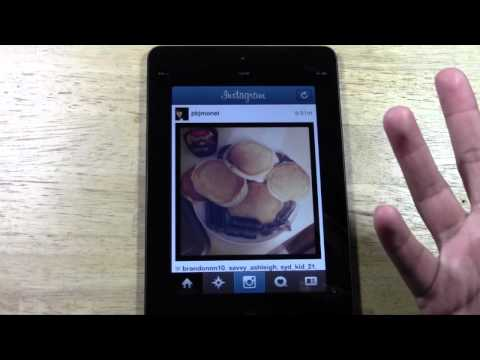 Instagram on the iPad Mini​​​ | H2TechVideos​​​