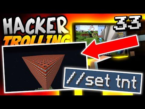 Minecraft HACKER TROLLING - WORLD EDIT RUINS HACKER'S LIFE!! - Ep. 33 ( Minecraft 1.8 Hacks )