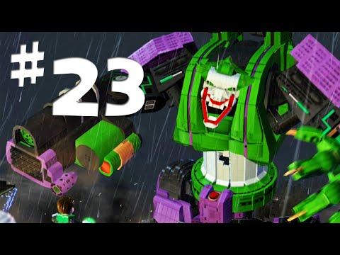 Road To Arkham Knight - Lego Batman 2 Gameplay Walkthrough Part 23 - Giant Joker Robot