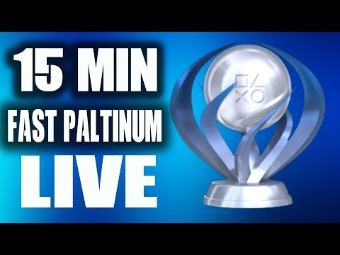 EASY FAST PS4 PLATINUM CHEAP $1.99 15 Mintues