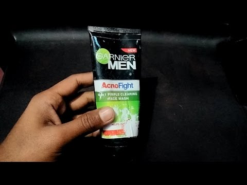 garnier acno fight face wash review hindi   best for oily skin and acne ,pimples