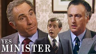 Humphrey... Made A Mistake | Yes, Minister | BBC Comedy Greats