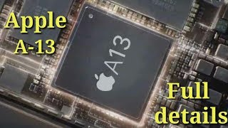 Apple a13 bionic chip processor launch confirmed