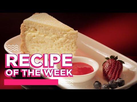 Baked Vanilla Cheesecake | Recipe Of The Week | MKR Always Open