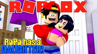 ROBLOX - ROPO HAS A NEW BABY DAUGHTER!!!