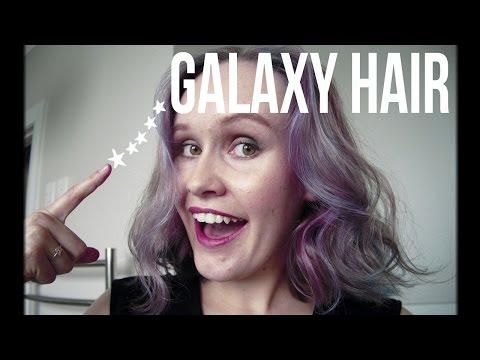 Subtle Galaxy Ombre Hair Tutorial | NO BLEACH |