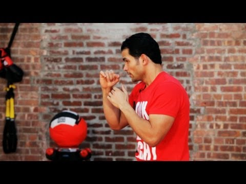 How to Shadowbox in Kickboxing   Kickboxing Lessons
