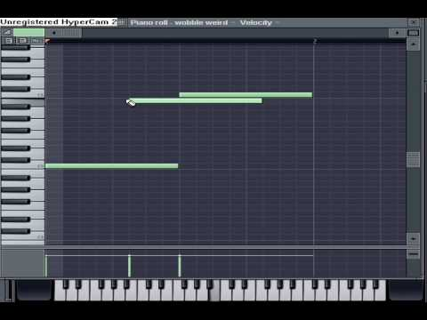 how to make a dubstep melody on fruity loops