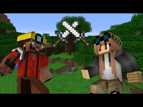 Miner VS Builder - Minecraft