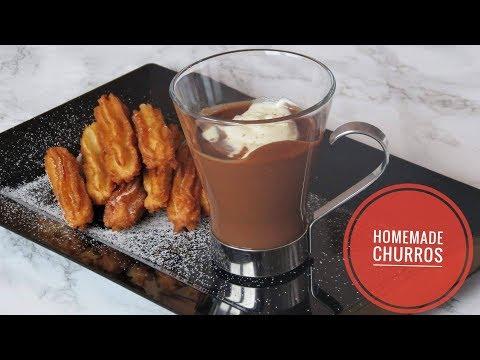 Spanish Churros  🇪🇸| Cake & Coffee Time
