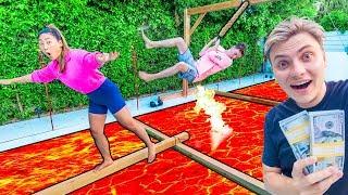 Download $10,000 THE FLOOR IS LAVA CHALLENGE!! Video