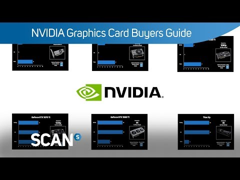 NVIDIA Graphics card Buyers Guide May 2018 - Which GPU is right for you?