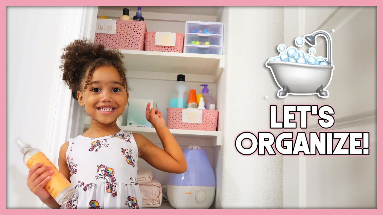 Organize With Me! | Kid's Bathroom Ideas