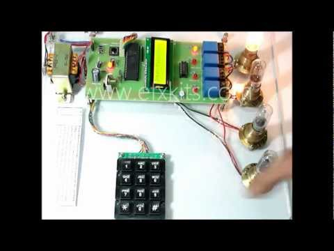 Password Based Circuit Breaker Control   Electrical based Projects