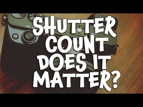 DOES SHUTTER COUNT EVEN MATTER?