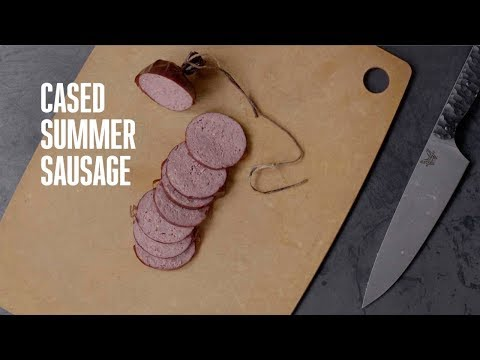 Cooking Game: Cased Summer Sausage