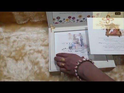 wedding invitations box