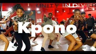 "Wande Coal Feat. Wizkid - ""Kpono"" | Phil Wright Choreography | @phil_wright_"