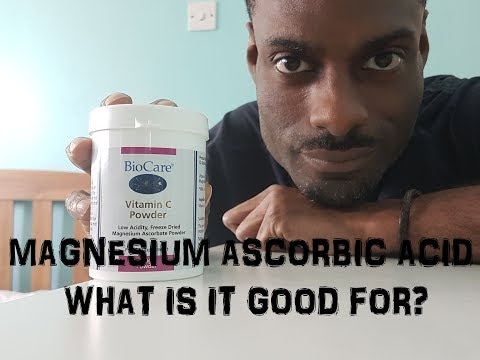 Magnesium Ascorbic Acid (Vitamin C) What Is It Good For? [2018] #3