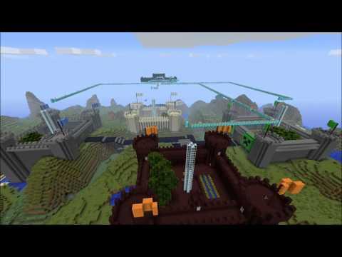 Minecraft Xbox 360 Custom Map Trailer | Castle Wars!