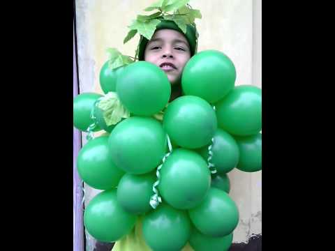 GRAPES FANCY DRESS COMPETITION BY HRISHIKESH
