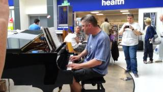 Piano Man By Billy Joel - Cover - Live At Brodericks In Manchester Airport