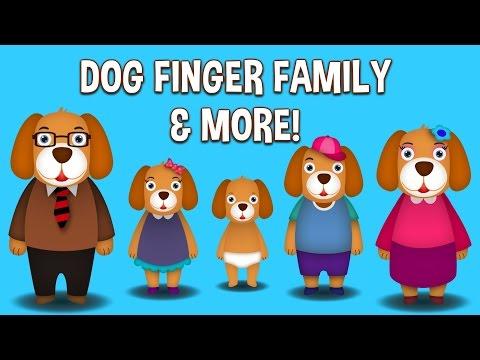 Dog Finger Family Collection | Top 10 Finger Family Collection | Finger Family Songs