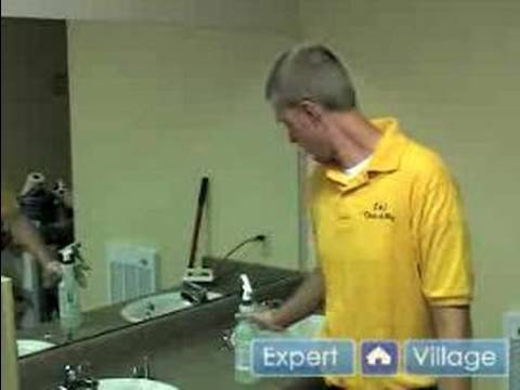 How to Kill Mold & Remove Bathroom Lime : Tips for Cleaning a Bathroom Sink