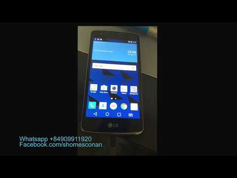 Bypass google account lock LG K8 K350Z