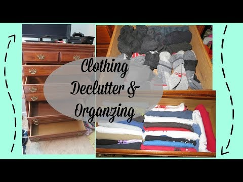 Getting Rid of Husbands Clothes! | DeClutter & Spring Cleaning