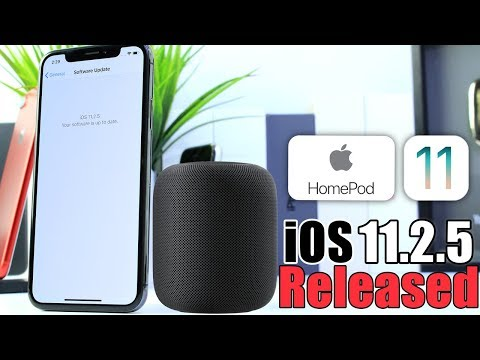 iOS 11.2.5 Officially Released | HomePod Release date announced by Apple