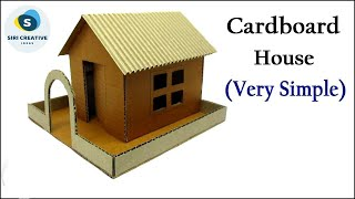 How To Make A Simple Cardboard House