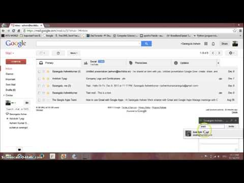 Group Chats , Voice and Video Calls in Gmail