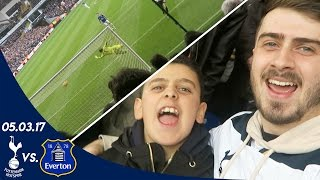 SPURS V EVERTON 3-2 (05.03.17) | A FAN EXPERIENCE