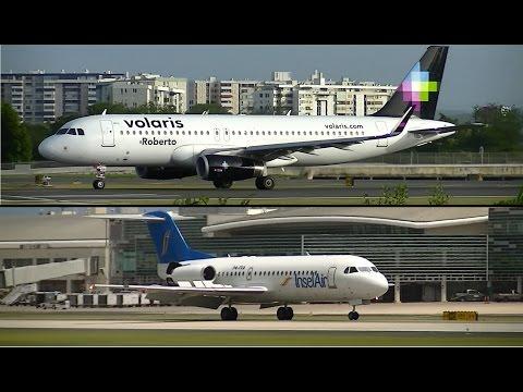 Insel Air Aruba & Volaris First Flights to/from San Juan (SJU)
