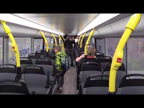 TransLink unveils new double-decker bus pilot
