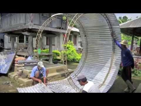 Tank Building Process for Clean Drinking Water in Indonesia