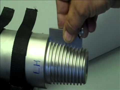 Gagemaker JSS NC23 Pins (LH & RH) Pitch Diameter Measurement