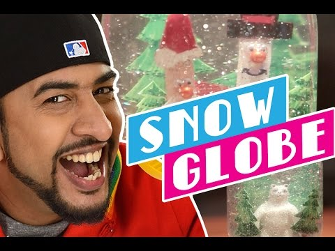 Mad Stuff with Rob – How to make a Snow Globe | DIY Craft for Children