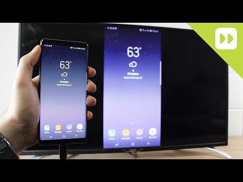 Samsung Galaxy Note 8: How to Connect to HDTV (Screen Mirroring Guide)