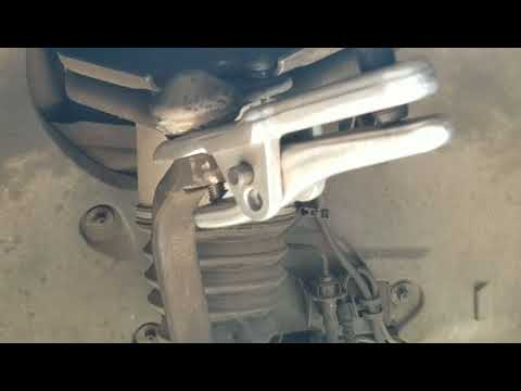 How To Remove & Replace Upper Ball Joint on CLS500