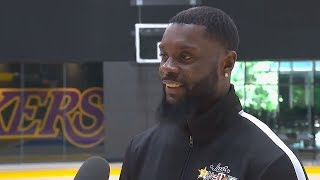Lance Stephenson On Joining LeBron James On The Lakers!